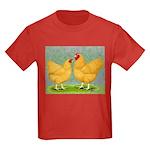Buff Wyandottes Kids Dark T-Shirt