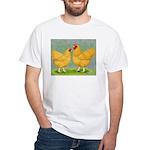 Buff Wyandottes White T-Shirt