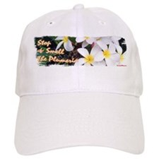 Smell the Plumeria Baseball Cap