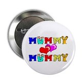 Mummy Loves Mummy Cute Button