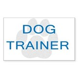 Dog Trainer Opinions Decal