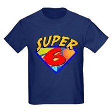Super Hero 6th Birthday T