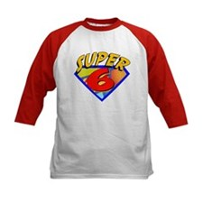 Super Hero 6th Birthday Tee