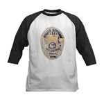 Inglewood Police Officer Kids Baseball Jersey