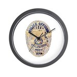 Inglewood Police Officer Wall Clock