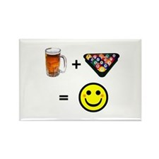 Beer + Pool Rectangle Magnet (100 pack)