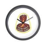 Cocoa North Strike Force Wall Clock