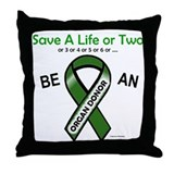 Save A Life Or Two Throw Pillow