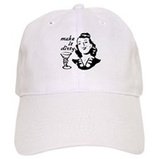 MARTINI WOMAN Baseball Cap