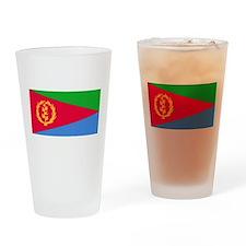 Flag of Eritrea Drinking Glass