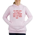 BRIDGE.png Women's Hooded Sweatshirt