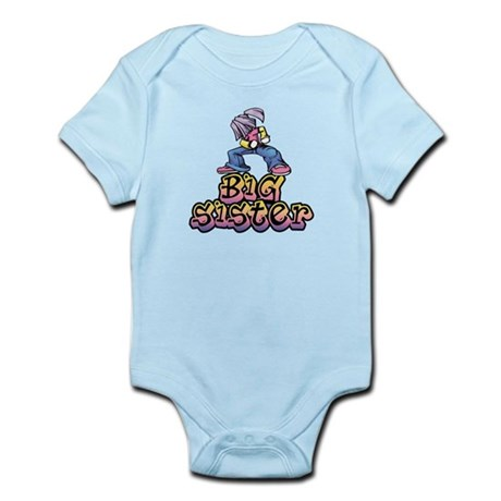 Hip Chic Big Sister Infant Bodysuit