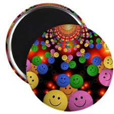 Smiley Faces Jamboree Magnet