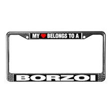My Heart Belongs To A Borzoi