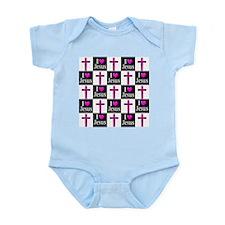 I LOVE JESUS Infant Bodysuit