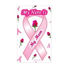 My Mom My Hero Rectangle Decal