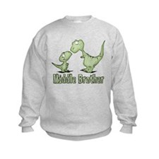Dinosaurs Middle Brother Sweatshirt