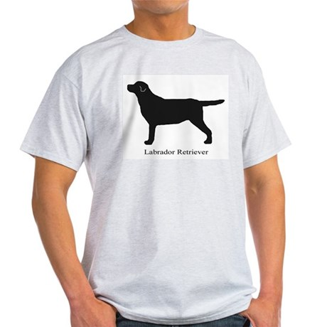 Black Labrador Retriever Light T-Shirt