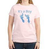 It's a  Boy Baby Feet T-Shirt