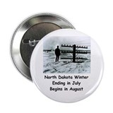 "Winter in North Dakota 2.25"" Button (100 pack)"