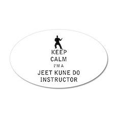 Keep Calm I'm a Jeet Kune Do Instructor Wall Decal