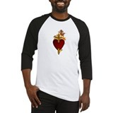Flaming Immaculate Heart Baseball Jersey