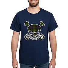 Murray Tartan Skull T-Shirt