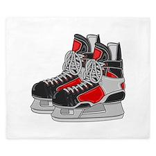 Ice Skates King Duvet