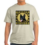 Solid Black GSD Light T-Shirt
