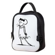 Cute Bm Neoprene Lunch Bag
