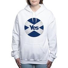 Cute Yes Women's Hooded Sweatshirt