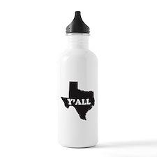 Cute Texas humor Water Bottle