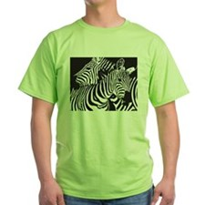 Unique Green zebra T-Shirt