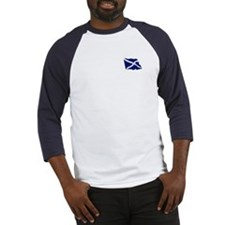 Smart Scots Flag Baseball Jersey
