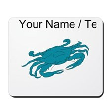 Custom Blue Crab Mousepad
