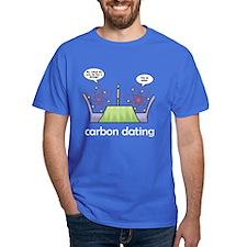 Carbon Dating Royal Blue T-Shirt