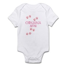 Pink Chihuahua Mom Infant Bodysuit