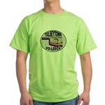 Tulseytown Po-lice Green T-Shirt