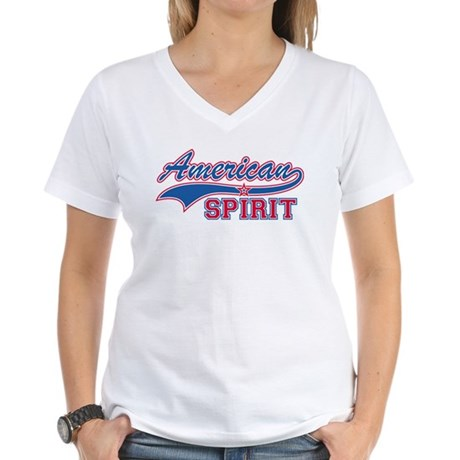 American Spirit Women's V-Neck T-Shirt