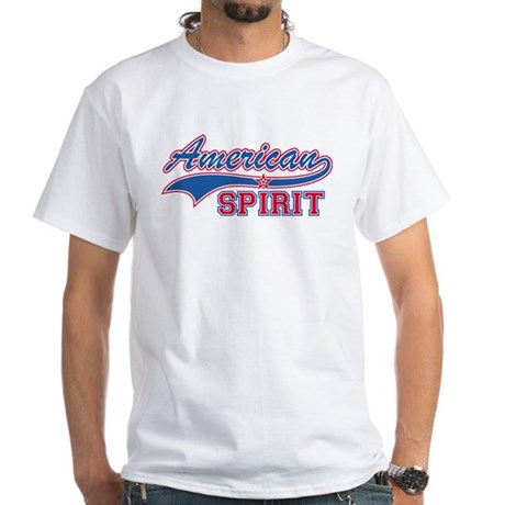 American Spirit White T-Shirt