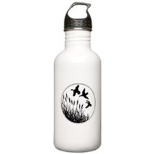 Cattails And Ducks Water Bottle