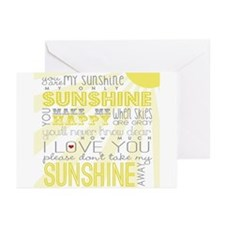 sunshine11 Greeting Cards