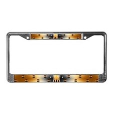 BEAR Paw 2 License Plate Frame