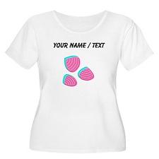 Custom Clam Shells Plus Size T-Shirt