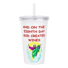 WINES.png Acrylic Double-wall Tumbler