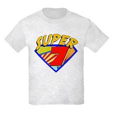 Super Hero 7th Birthday T-Shirt