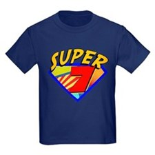 Super Hero 7th Birthday T