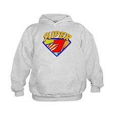 Super Hero 7th Birthday Hoodie