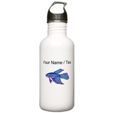 Custom Blue Betta Fish Water Bottle