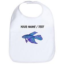 Custom Blue Betta Fish Bib